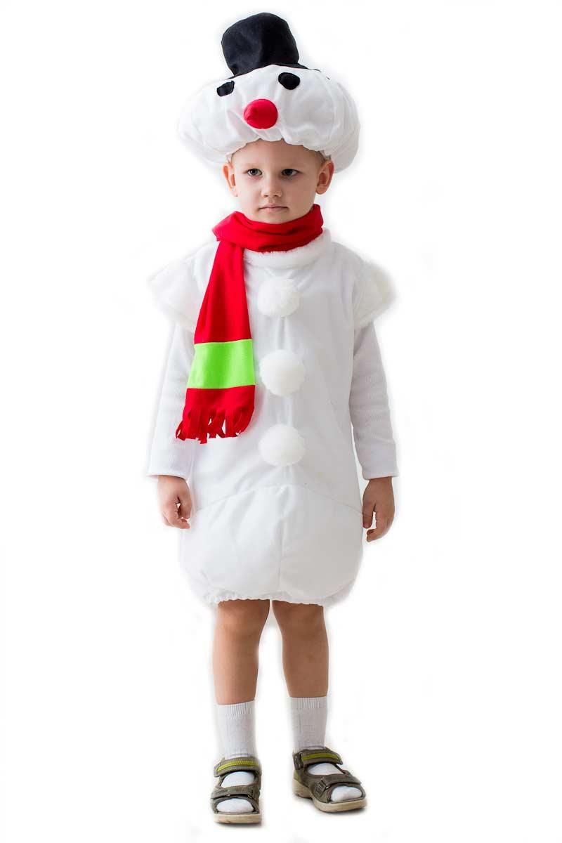 Костюм снеговика своими руками с фото